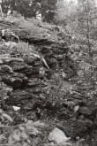 Varbola maalinna valli müüritis. Foto: V. Ranniku 1961