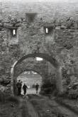 Põltsamaa linnuse värav W küljel. Foto: V. Ranniku 1961
