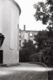 Põltsamaa linnus ja suurtükitorn. Foto: V. Ranniku 1961