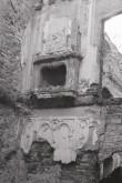 Põltsamaa lossi kamina jäänused. Foto: V. Ranniku 1961