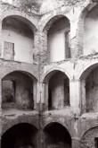 Põltsamaa linnuse kaaristud sisehoovist. Foto: V. Ranniku 1961