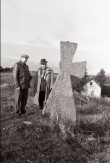 Kõrkküla kivirist. Foto: V. Ranniku 1962