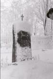 Torma köster Adam Jakobsoni hauasammas. Foto: V. Ranniku 1962
