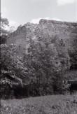 Põltsamaa llinnuse NW nurk. Foto: V. Ranniku 1962