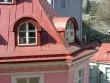 Vaade Pikk 2 maja aknast vastasmajale Tallinna vanalinnas Rataskaevu tänaval Foto: J. Vali 26.04.2005