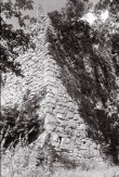 Põltsamaa eeslinnuse SW nurk. Foto: V. Ranniku 1962