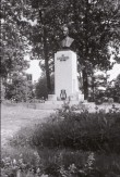 K. A. Hermanni monument. Kujur Alfred Leius, 1934. Pronks, graniit. Foto: V. Ranniku 1962