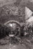 Põltsamaa linnuse väravakäik. Sisevaade. Foto: V. Ranniku 1962