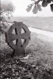 Rõngasrist Kullamaa kirikaias. Foto: V. Ranniku 1962
