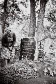 Johann Philipp von Rothi hauatähis Kanepi kalmistul Foto: V.Ranniku 1964