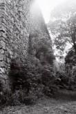 Põltsamaa eeslinnuse N-müür. Foto: V. Ranniku 1962