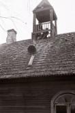 Meerapalu palvela kellatorni kella vinnamine. Foto: V. Ranniku 1962