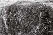 Edise tornlinnuse müüritis. Foto: V. Ranniku 1962