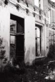 Rutikvere mõisa peahoone esikülje keskrisaliit. Foto: V. Ranniku 1965