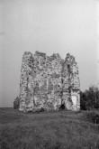 Laiuse linnuse varemed. Foto: V. Ranniku 1965