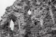 Laiuse linnuse varemed, idatorni sisevaated. Foto: V. Ranniku 1965