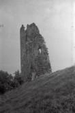 Laiuse linnuse varemed, idatorn. Foto: V. Ranniku 1965