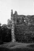Laiuse linnuse varemed, läänenurga torn. Foto: V. Ranniku 1965