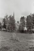 Kivirist Alatskivi kiriku aias Foto: V.Ranniku 1964