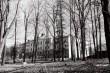 Uus hoone Kaagvere mõisa kohal, tagantvaade. Foto: V. Ranniku 1965