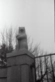 """Skulptuur """"Karu"""". H. Halliste, graniit, 1930.  Foto: V. Ranniku 1969"""