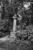 Hauatähis Viljandi kalmistul. Foto: V. Ranniku 1971