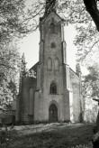 Lihula kiriku läänefassaad. Foto: V. Ranniku 1973