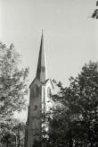 Lihula kiriku torn. Foto: V. Ranniku 1973