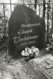 Eduard Timbermani kalm Viljandi kalmistul. Foto: V. Ranniku 1973