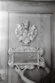 Vapp-epitaaf Kärla kirikust. Foto: V. Ranniku 1973