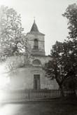 Kärla kiriku läänefassad. Foto: V. Ranniku 1973