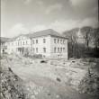 Rakvere mõisa peahoone  arheoloogilised kaevamised Foto: J. Vali mai 1991