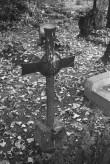 Raudrist Hageri kalmistul. Foto: V. Ranniku 1972